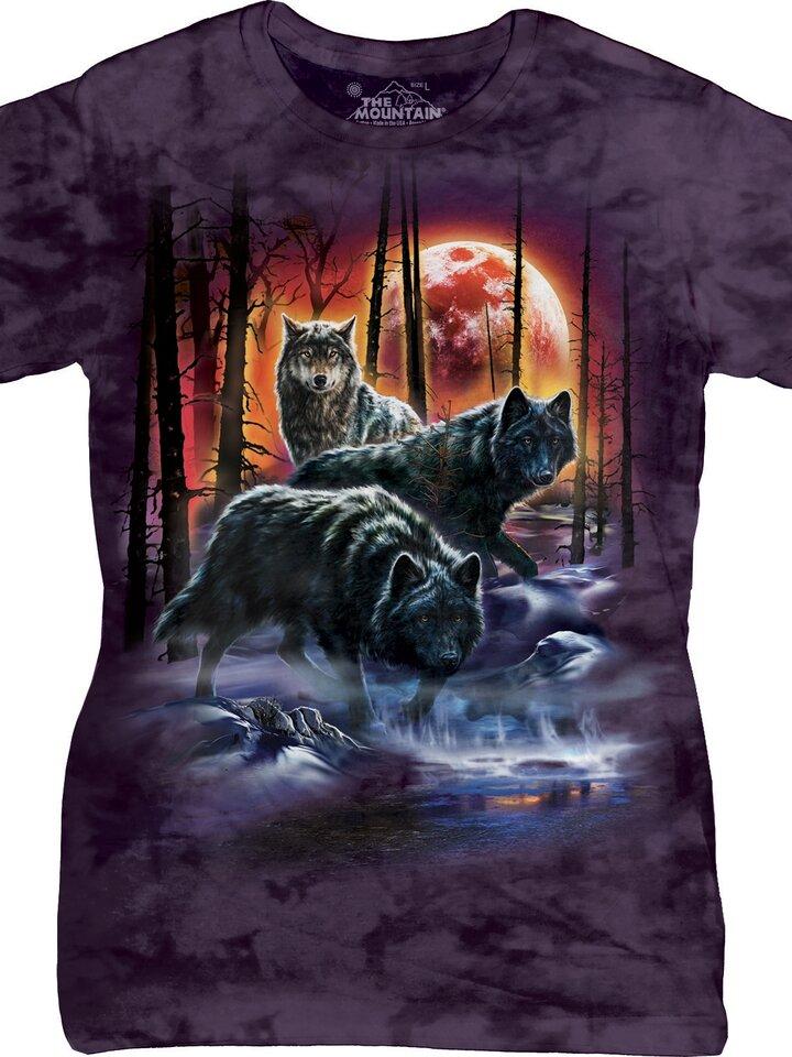 pentru outfit-ul perfect Tricou damă Fire Ice Wolves