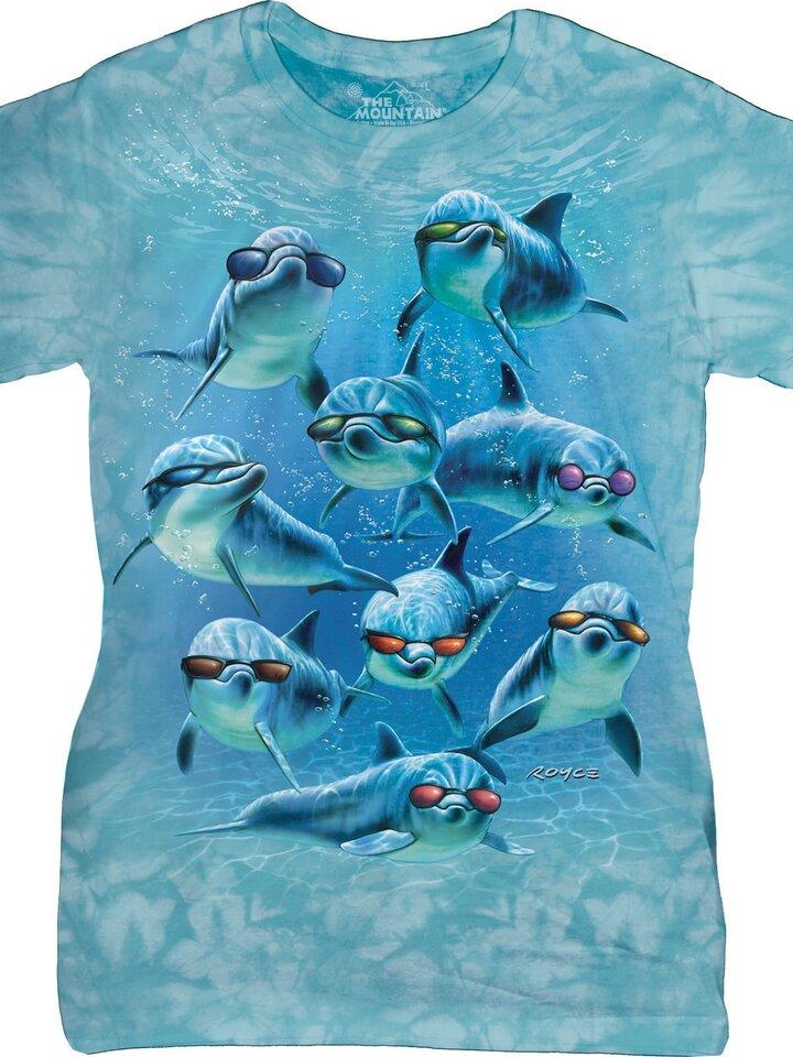 Kiárusítás Cool delfinek női póló