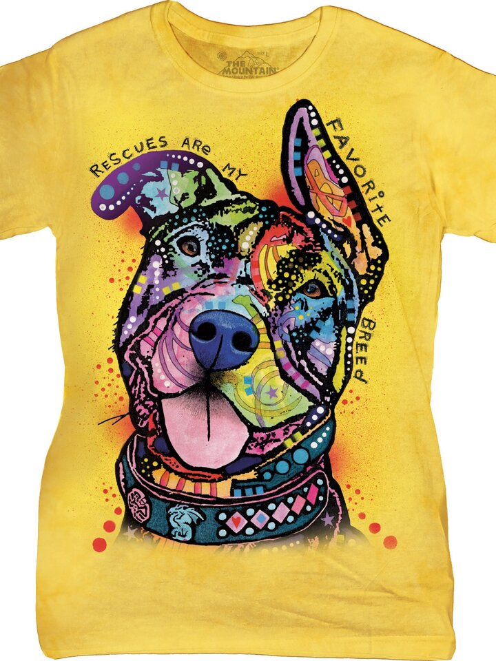 Lifestyle foto Tricou damă Russo My Favorite Breed