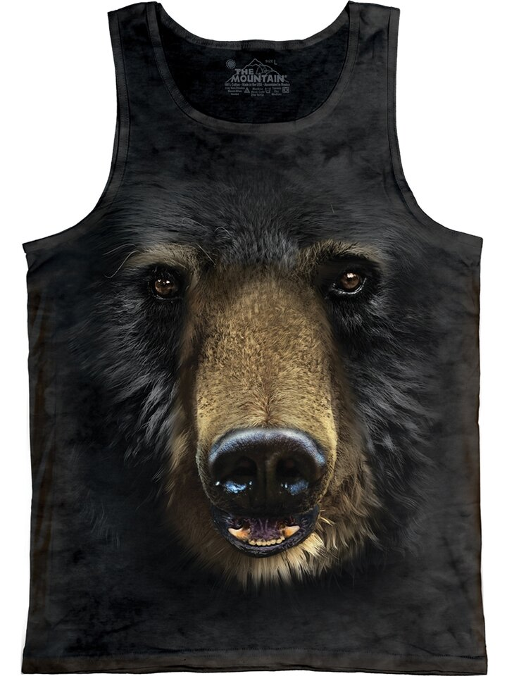 Výnimočný darček od Dedoles Black Bear Face  Unisex
