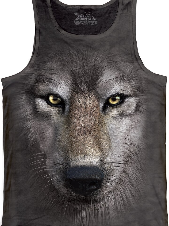 Cadou original de la Dedoles Wolf Face  Unisex Adult