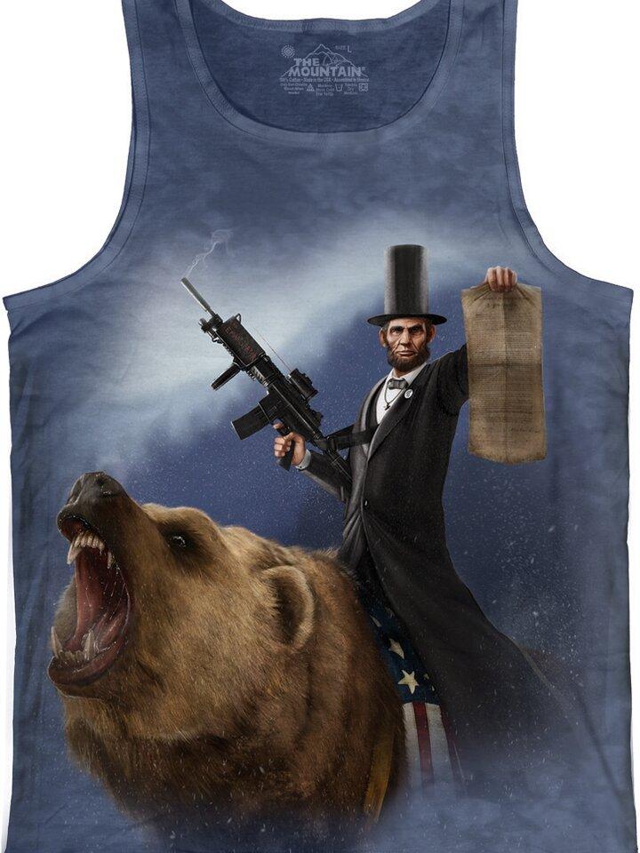 Sale Lincoln Emancipator Tank Top