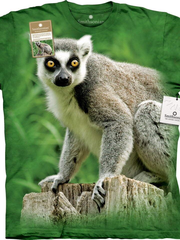 Hľadáte originálny a nezvyčajný darček? Obdarovaného zaručene prekvapí T-shirt Life of Lemur