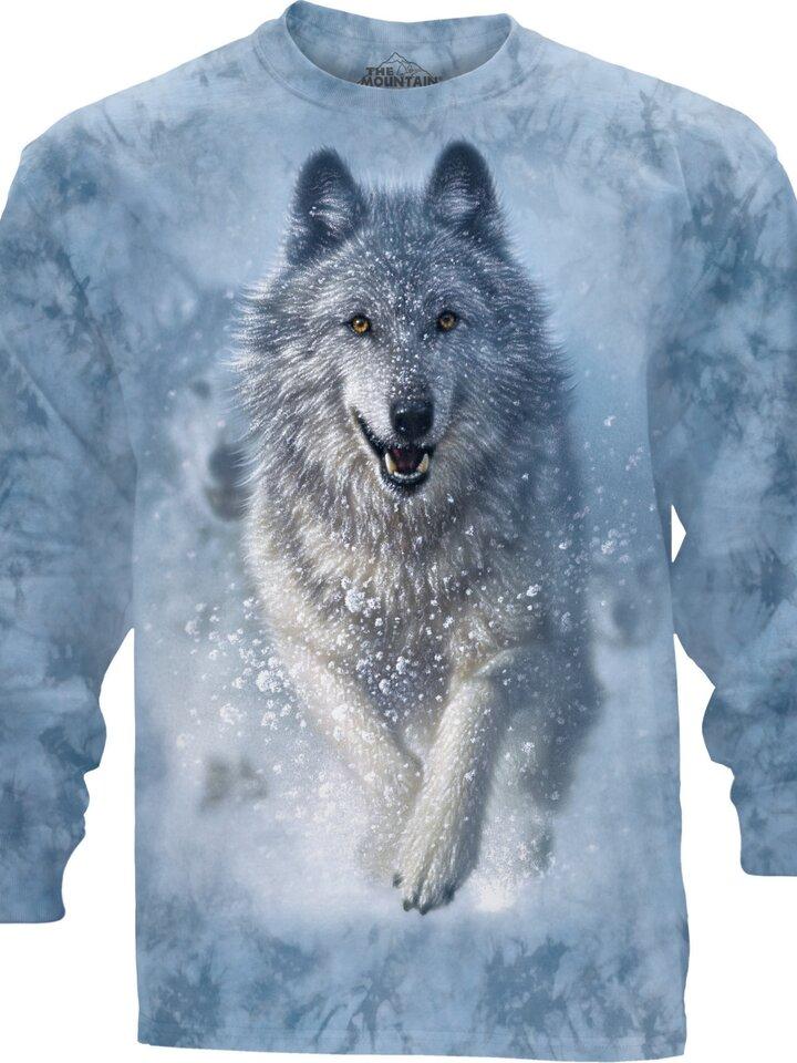 Foto Dlouhý rukáv Sněžný vlk