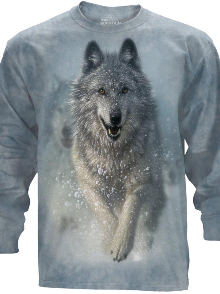 Výprodej Dlouhý rukáv Sněžný vlk