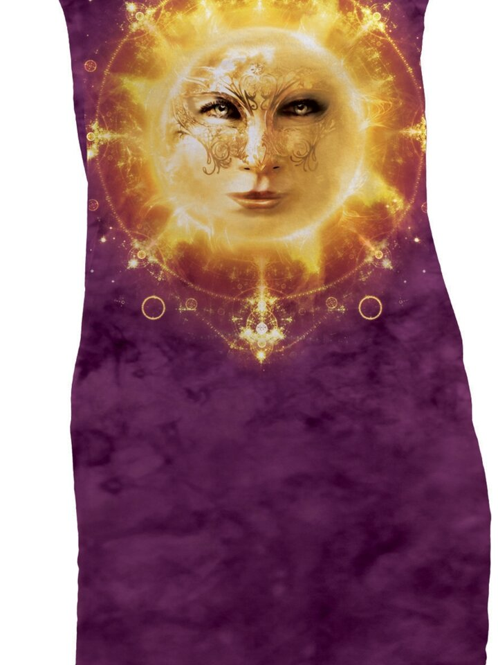 Zdjęcie lifestyle Sun Face  Mini Dress
