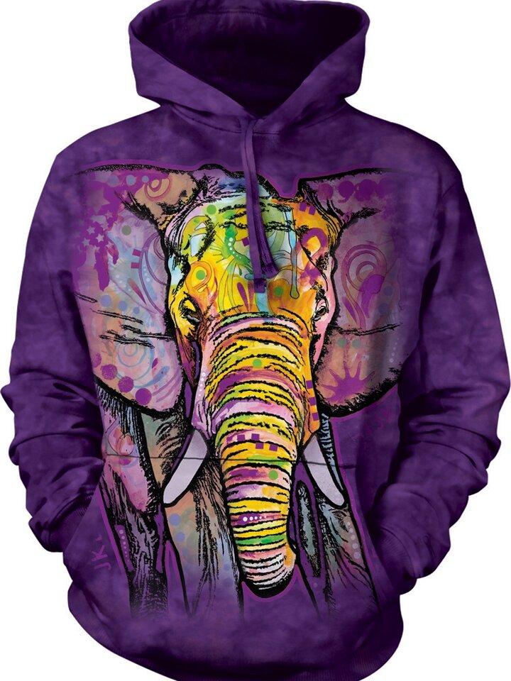 Rabatt Sweatshirt mit Kapuze Russo Elefant