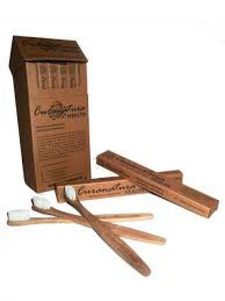 Výnimočný darček od Dedoles Bambusová zubná kefka - Health