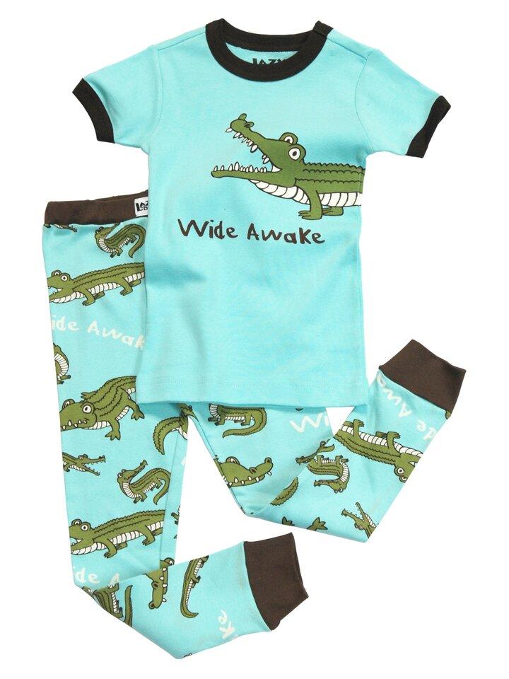 Tip na dárek Dětské Dvojdílne Pyžamo Krokodýl