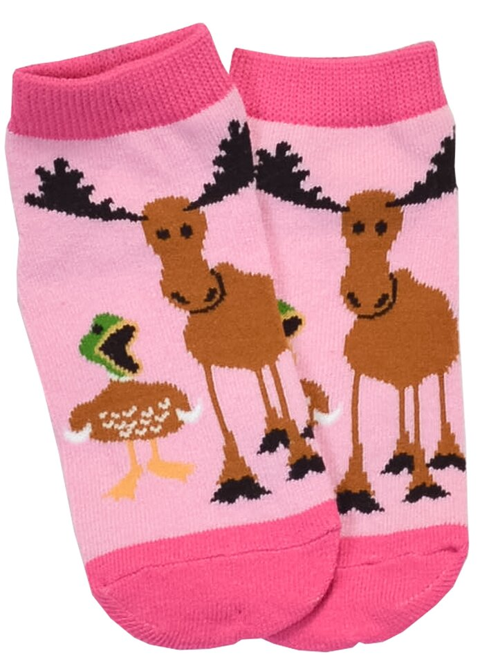 Looking for an original and unusual gift? The gifted person will surely surprise with LazyOne Girls Duck Duck Moose