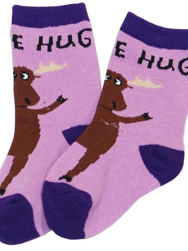 Pre dokonalý a originálny outfit Detské Ponožky Objatie Losa - Fialové - Dieťa