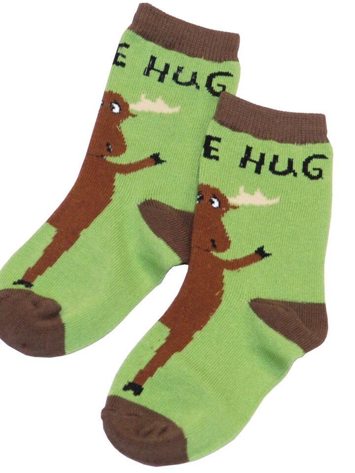 Potešte sa týmto kúskom Dedoles Detské Ponožky Objatie Losa - Zelené - Dieťa