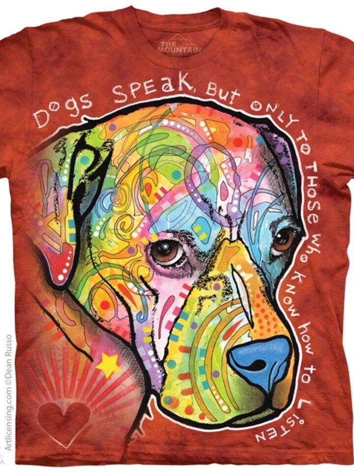 Tip na dárek Tričko Psi mluví