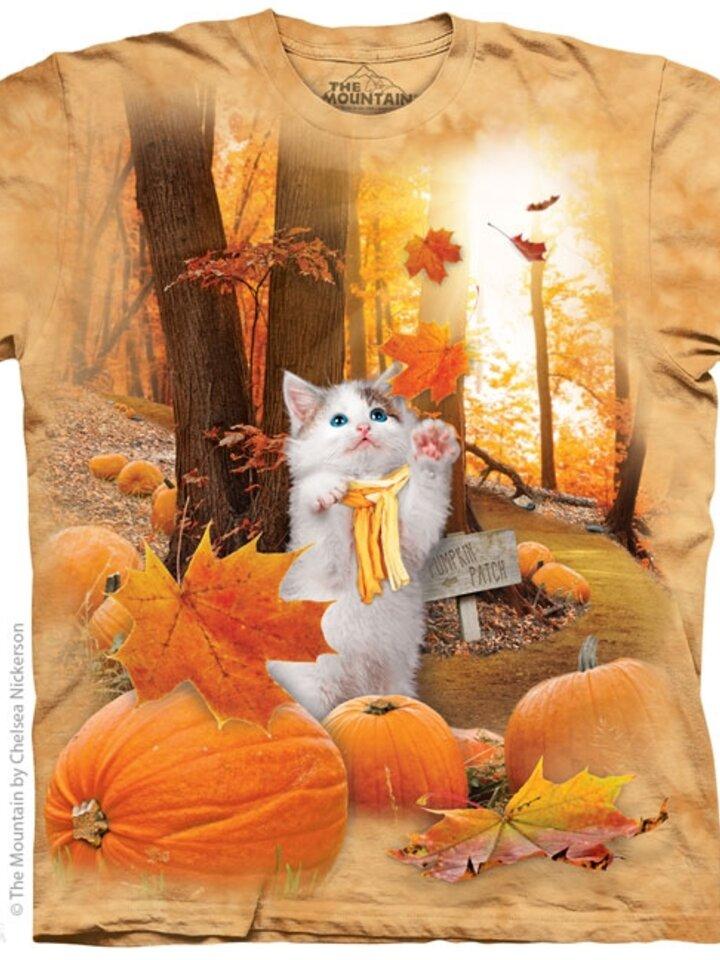 Tip na dárek Tričko Podzimní kotě deti