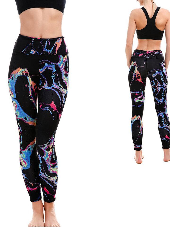 Potešte sa týmto kúskom Dedoles Ženske športne elastične pajkice Svet barv