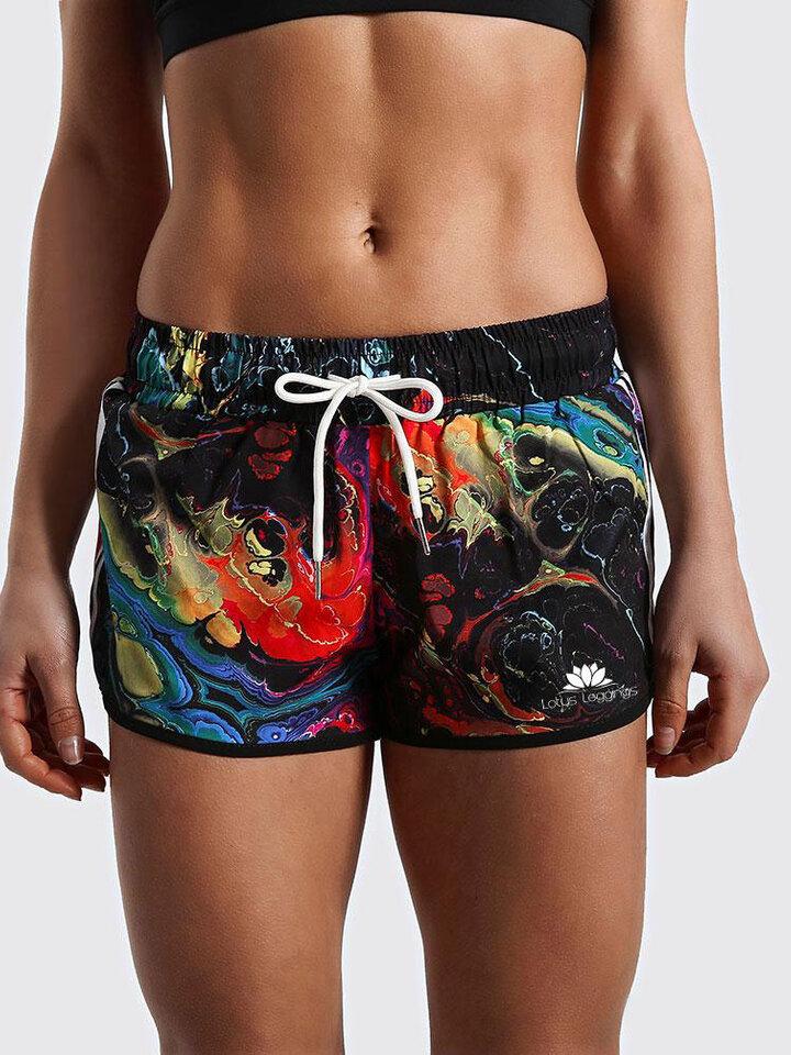 Obrázok produktu Ženske športne kratke hlače Fictional Reflections