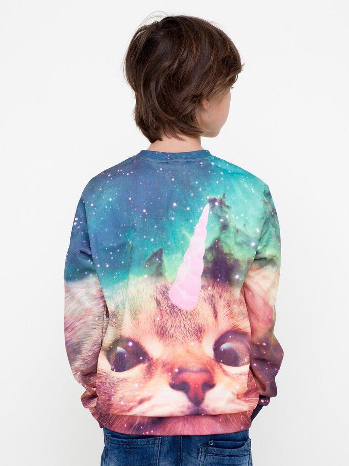 Pomysły na prezenty Kids' Sweatshirt Cat Unicorn