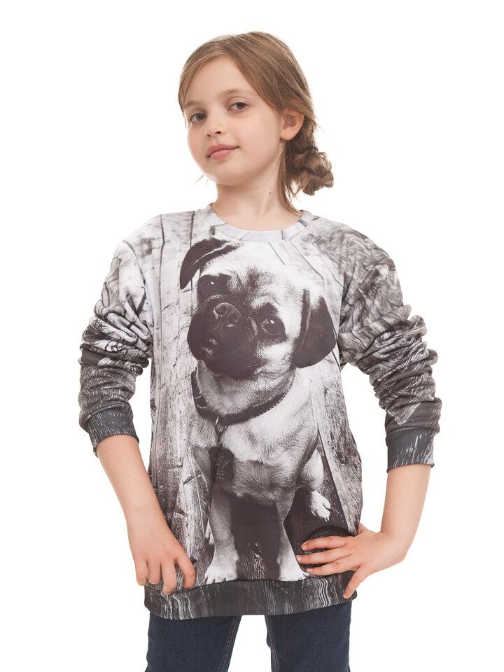 ZNIŻKA Kids' Sweatshirt Pug