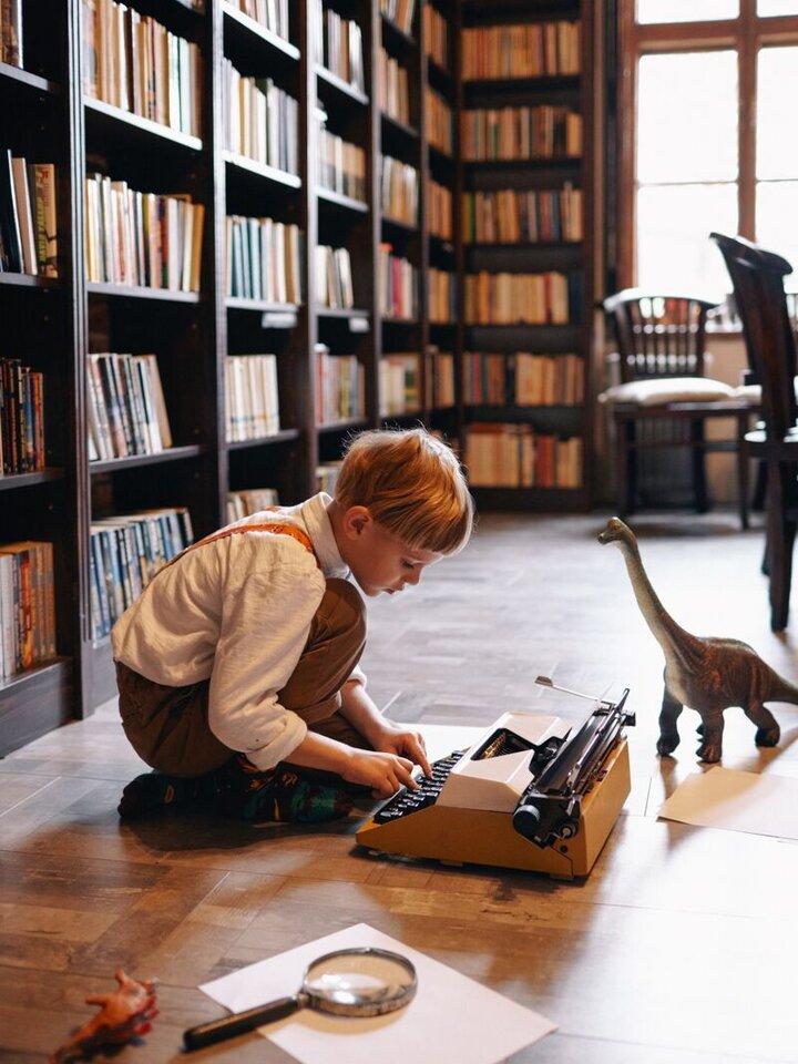 Lifestyle foto Detské Ponožky Many Mornings Dinosaury