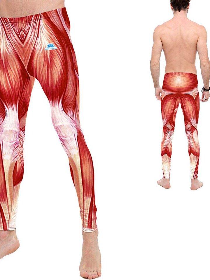 Bereiten Sie sich Freude mit diesem Dedoles-Stück Herren Sport Leggings Muskeln