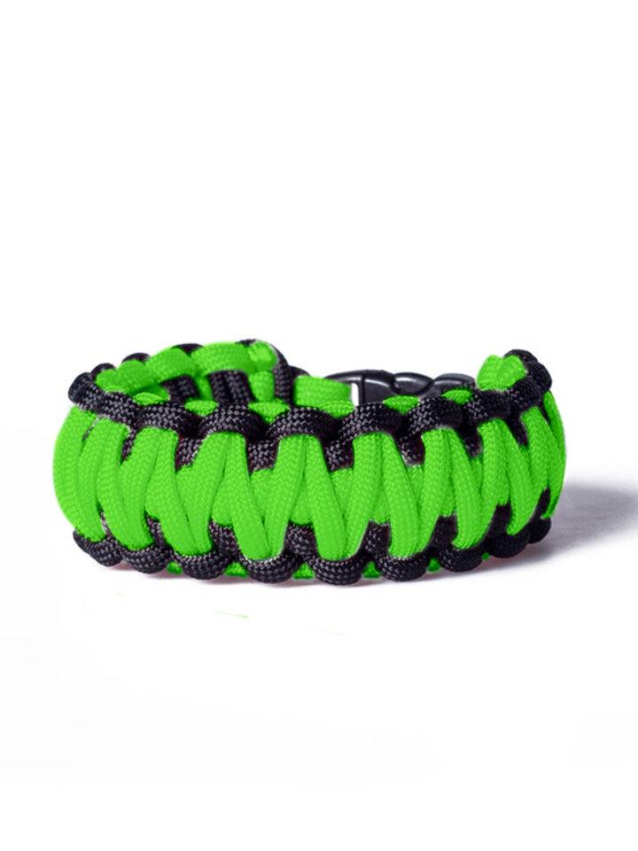 Potešte sa týmto kúskom Dedoles Survival Bracelet - Green and Black