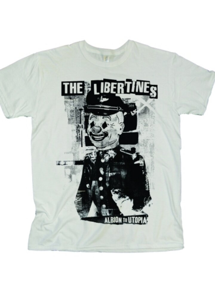 "Geschenktipp T-Shirt The Libertines ""Albion to Utopia"""