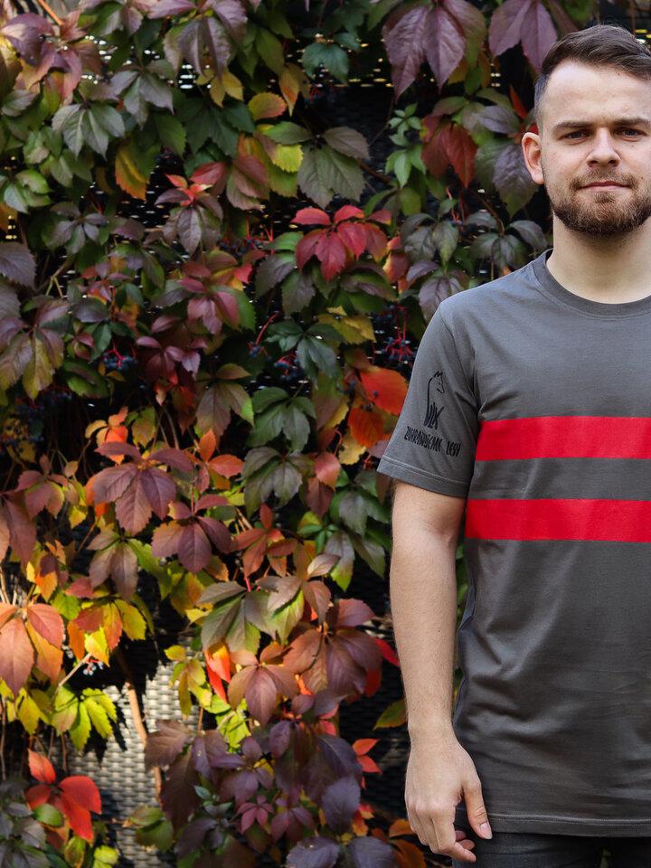 Pre dokonalý a originálny outfit Tričko Vlk Zachraňujeme lesy sivé
