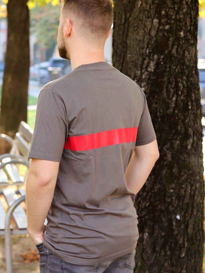 Obrázok produktu Tričko Vlk Zachraňujeme lesy sivé