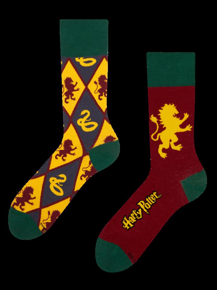 Obrázok produktu Chaussettes rigolotes Harry Potter ™ Gryffondor vs Serpentard