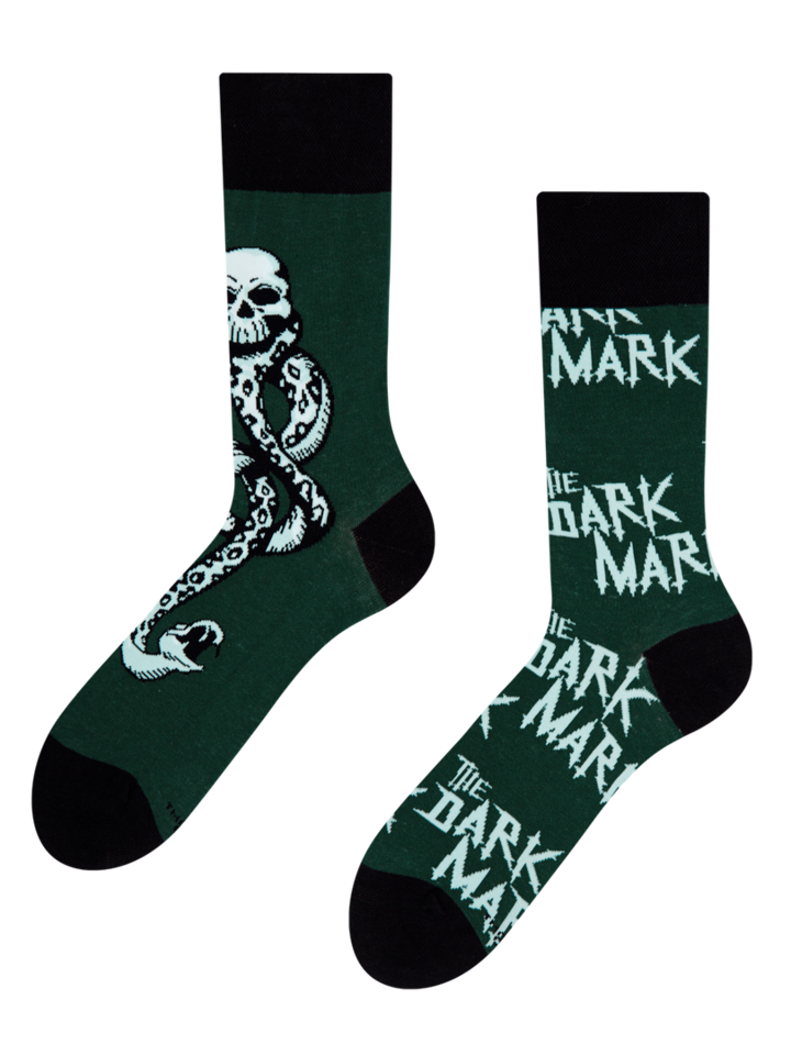 Lifestyle photo Harry Potter Regular Socks ™ Dark Mark