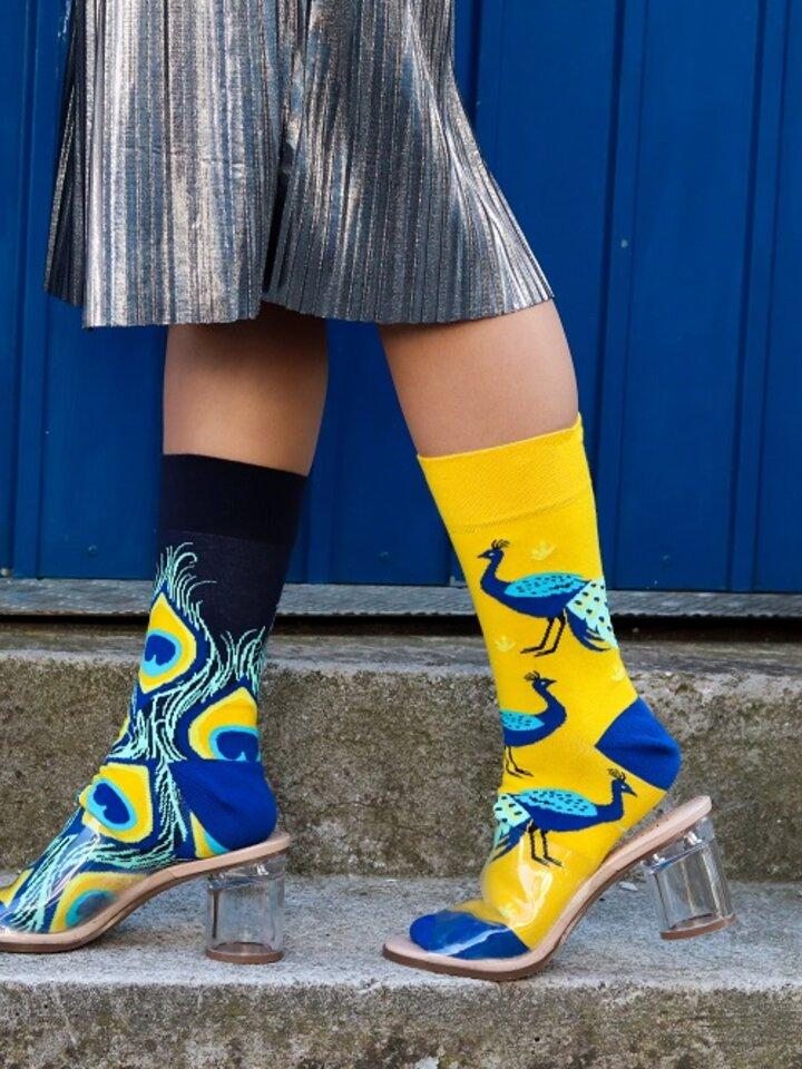 Gift idea Regular Socks Peacock