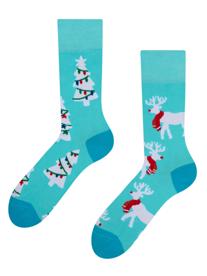 Original gift Regular Socks Reindeer