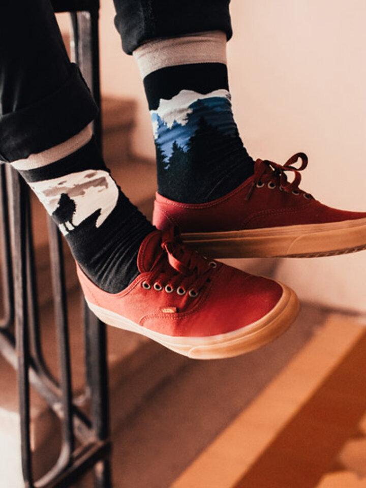 Gift idea Regular Socks Wolf