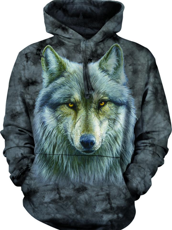 Wyprzedaż Bluza z kapturem Zaklęty wilk