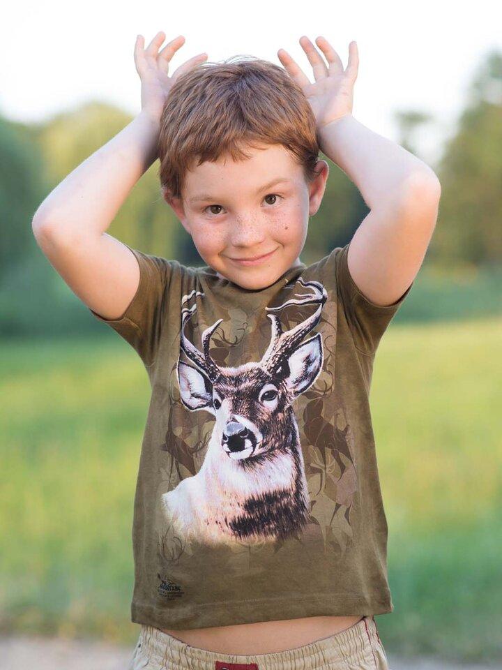 Tip na dárek Tričko S jelenem - dětské