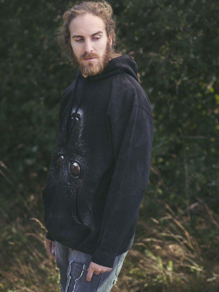 Pre dokonalý a originálny outfit Mikina s kapucňou Netopier