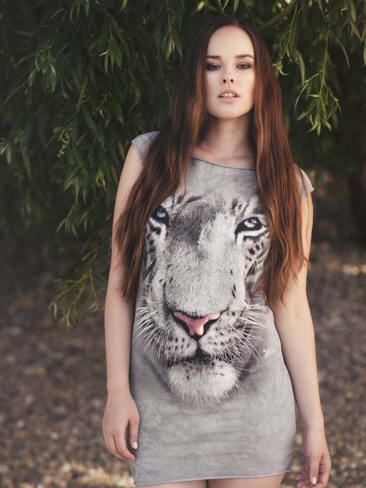 a tökéletes és egyedi ruházathoz White Tiger Face  Adult
