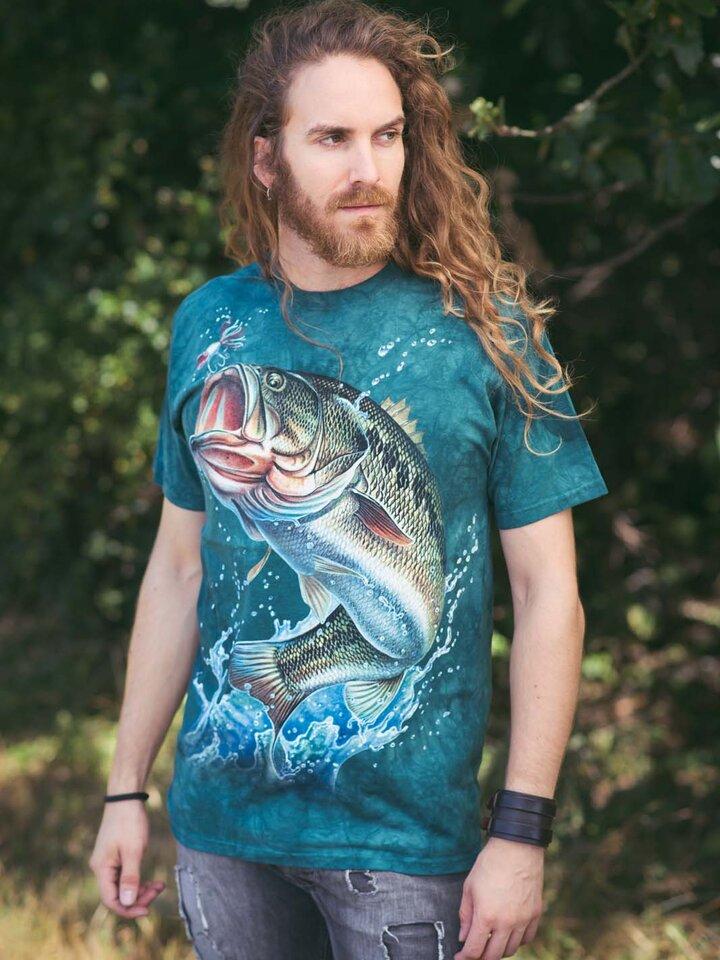 Ajándék tipp Halászó hal póló