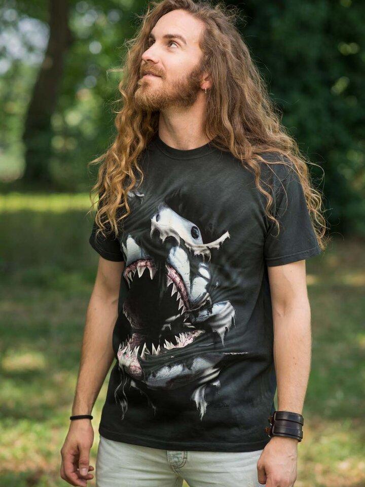 Geschenktipp T-Shirt Wütender Haifisch