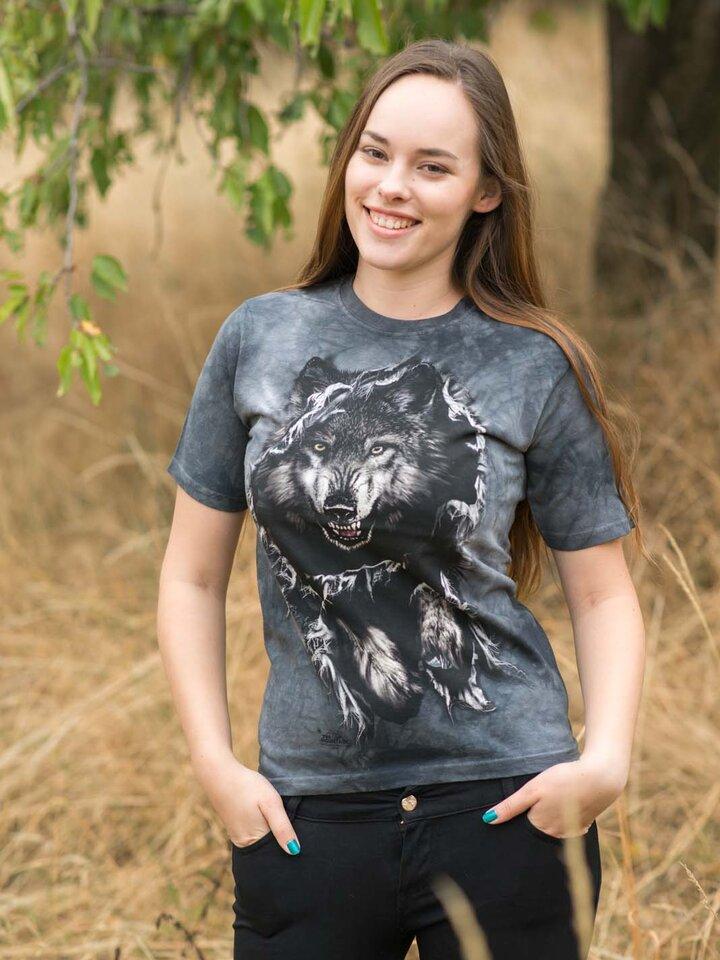 Szerezzen magának örömet ezzel a Dedoles darabbal Áttörő farkas póló