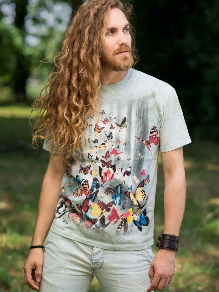 Foto T-Shirt Schmetterlinge