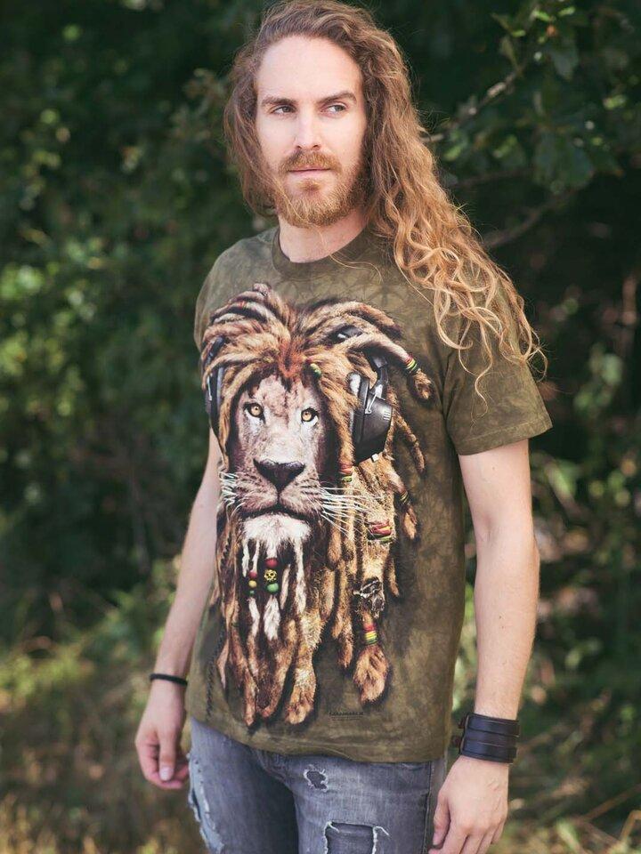 Zľava Tričko Dredatý lev