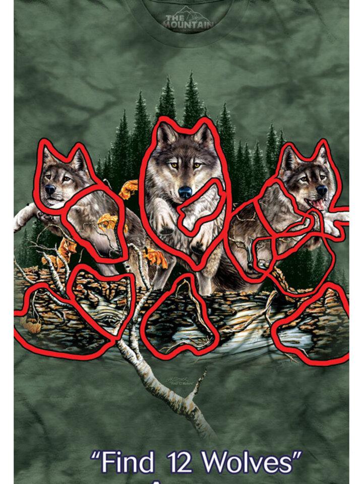 Cadou original de la Dedoles Find 12 Wolves Adult