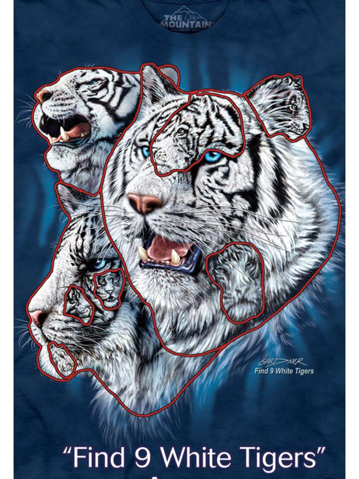pentru outfit-ul perfect Find 9 White Tigers