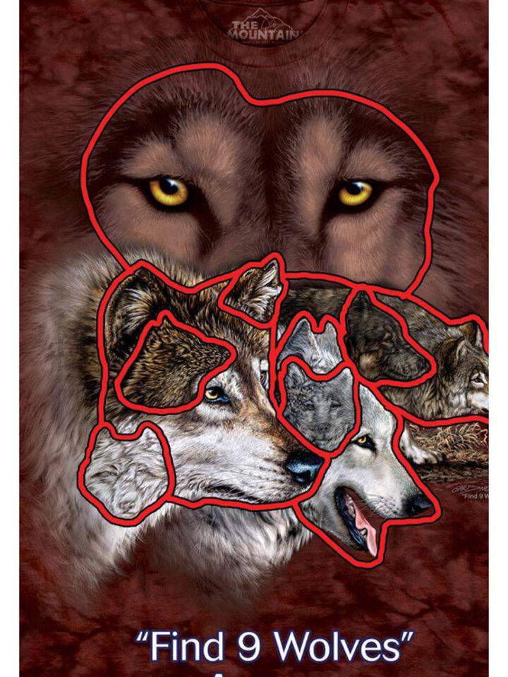 Foto Find 9 Wolves Adult