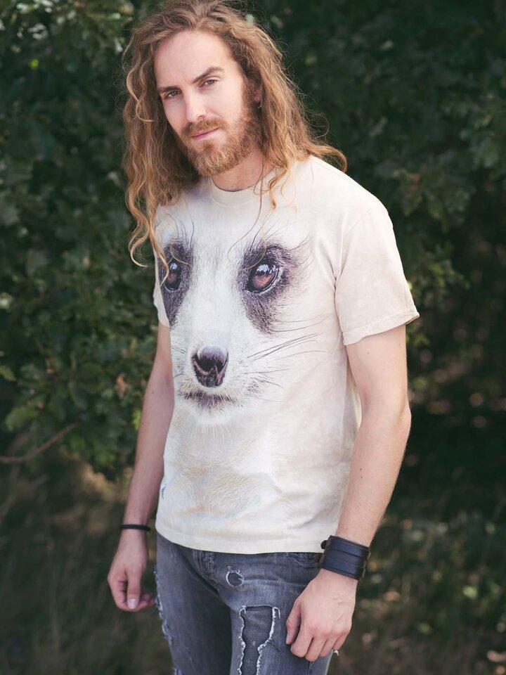 Zľava Tričko Tvár surikaty