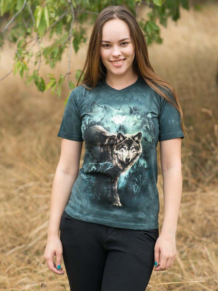 Pre dokonalý a originálny outfit Tričko Nočné vlky