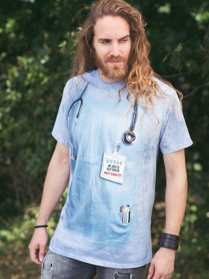 Foto T-Shirt Krankenschwester Arbeit