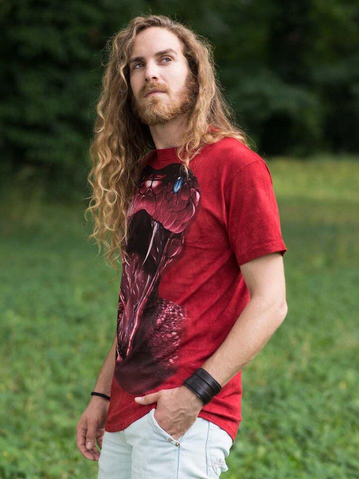 Potešte sa týmto kúskom Dedoles Tričko Červená mamba