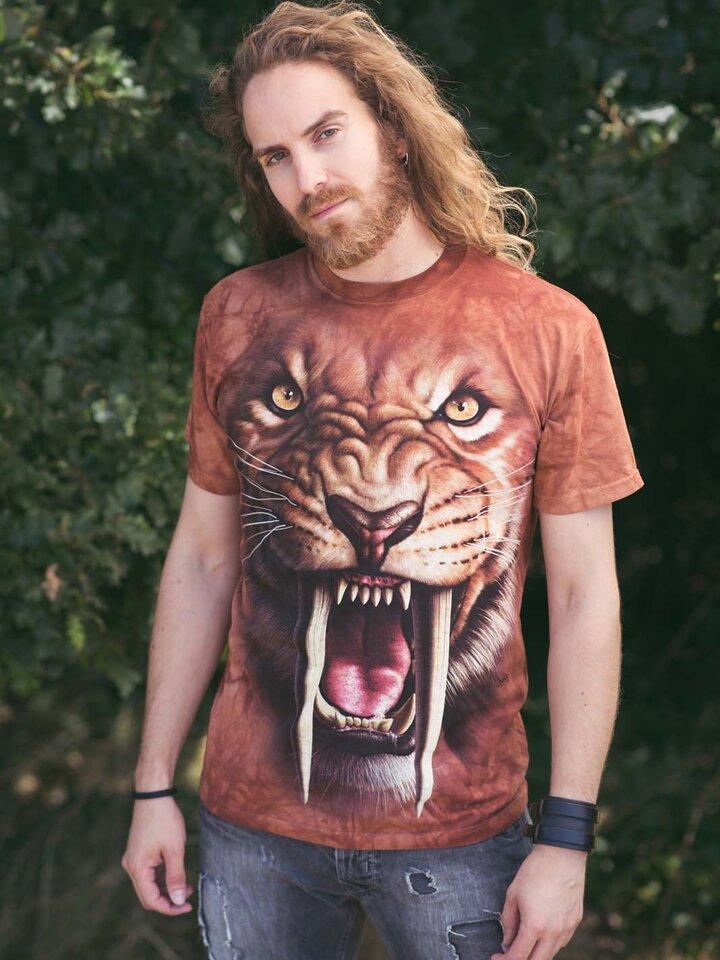 Cadou original de la Dedoles Sabertooth Tiger Adult